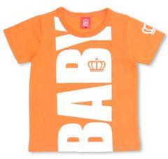 新品BABYDOLL☆BIGロゴ Tシャツ 110 オレンジ ベビードール