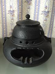 美品  茶釜灰皿