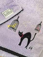 ルルギネススモールバスタオル猫
