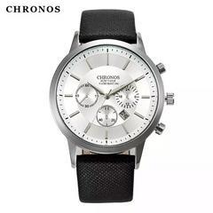 腕時計 メンズ  シルバー シンプル