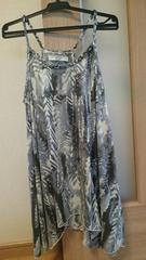 AZULアズールバイマウジー♪夏服柄物ノースリーブ/キャミソールトップス♪Sサイズ