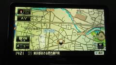 サンヨー ポータブルナビ ゴリラ NV-SD740DT ワンセグ付き 2010年 訳あり