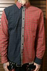 即決Fxxkクレイジーチェックシャツ!Oiパンクロックスキンズロンズデール