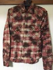 agateアガート美品チェックシャツ