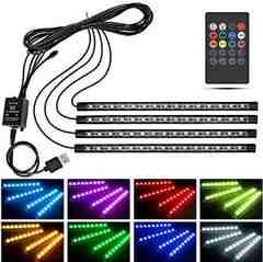 ★即日発送★ LEDライト 音に反応 USB 防水