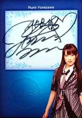 AKB48.オフィシャルトレカ.vol 1  米沢瑠美・直筆サインカード  sg32