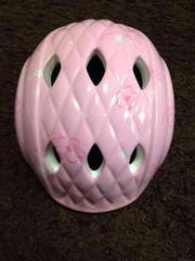 キッズヘルメット   OGK   47〜51cm  花柄