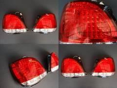 トヨタ クリスタルLEDテールランプ アリスト16系全年対応