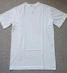 ☆新品WEGOオフホワイトオーバーサイズBIG Tシャツワンピ☆F