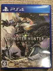 モンスターハンター:ワールド 極美品 初回コード付き PS4