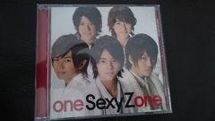Sexy Zone「one Sexy Zone」