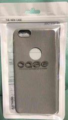 新品 シンプル iPhone6 plusケース グレー