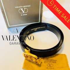 正規品VALENTINO GARAVANI【大感謝祭】人気のゴールドバックル