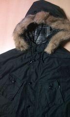 2008a/w hooded field jacket ブラック L フィールド