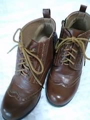 Мサイズ23〜23.5 合皮靴 定形外700