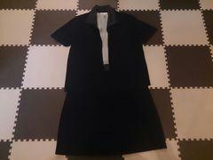 Chiko 黒 Lサイズ ワンピースと上着のセット 新品