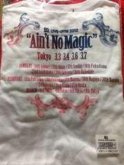 B'z LIVE-GYM 2010 Ain't No Magic 限定Tシャツ 白 未使用