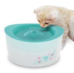 ピュアクリスタル 全猫用【フィルター式(循環式)給水器】