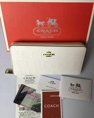 COACH コーチ F53836 長財布 レディースサイフアウトレット品