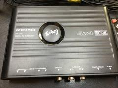 KEIYO フルセグ 4×4 地デジ・ワンセグチューナー