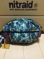 nitraid WAIST BAG(LARGE)(MOSAIC RW)(08S/S)
