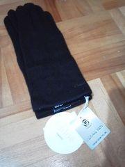 クロエ深喜のカシミヤ100% 高級手袋《新品タグ付き》送料120円