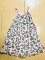 ◆ 超美品 ◆ キッズ kids ワンピース ピンク ポケット付き