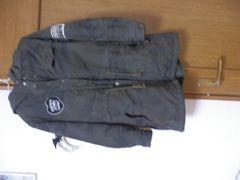 JENNI*フード付き迷彩コート150cm