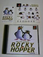 ■即決■PS イワトビペンギンロッキー×ホッパー■付属品付プレイステーションゲームソフト