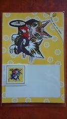 わちふぃーるど A 世界切手まつり スタンプショウ 切手 52円&ポストカード