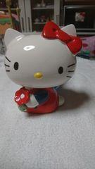 キティ 陶器 貯金箱