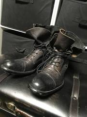 アルフレッドバニスター レイヤード ブーツ チェック
