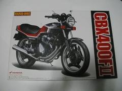 (9107)プラモデルCBX400F2型黒赤1/12CBR400FCBX550FCB400N