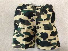 ★BAPE KIDS★1ST CAMO SWEAT SHORTS★100