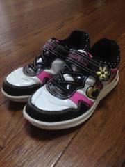 スニーカー靴女の子20cm洗い替え通学に☆