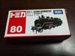 トミカ80 C11 蒸気機関車†ミニカー