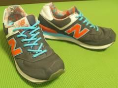 ¶New Balance[ニューバランス]★ML574IBK.スニーカー 26.5cm/送\300〜