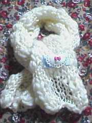 【\600送込処分セール】A16〓手編み リボンモチーフ