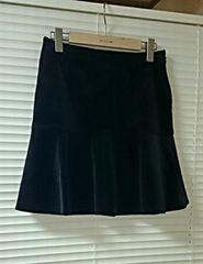 新品同様◆Joiasジョイアス◆高級感ベルベット素材スカート 光沢