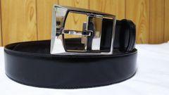 正規レア カルティエ タンク アシンメトリースクエアDバックル リバーシブルベルト黒×茶 調節可