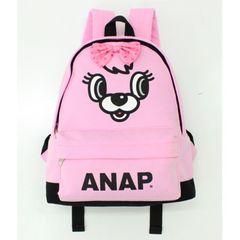 新品ANAPKIDS☆ロゴ キャラクター リュック ピンク バックパック アナップキッズ