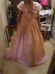 ★Conte de Freya ウエディング ドレス ピンク系  スパンコール キラキラ 華やか●