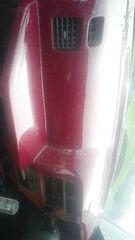 キャリイ(キャリー)52系ダッシュボードカバー赤ラメ塗装テーブル付