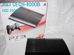 PS3本体CECH-4000B HDD250GB 読み込みOK