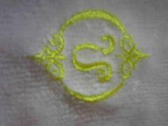 高級タオルハンカチ/星座刺繍獅子座/ピンク/新品未使用♪