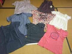 まとめ売り 新品あり 半袖トップス 8点 Tシャツ レディースM L