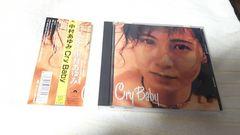 中村あゆみ/ Cr y  Baby  帯付き 11曲収録アルバム盤