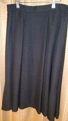 黒色フレアスカート