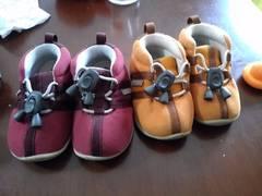コンビ Combi 運動靴 12.5&13.0 二足まとめ売り 男女兼用