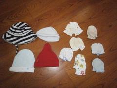 ★ミトンと帽子のセット★GAP入り★新生児に